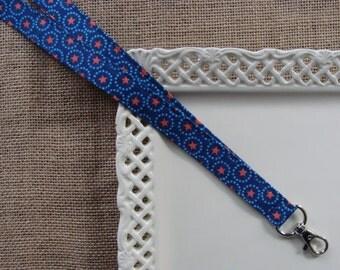 Fabric Lanyard - Americana Stars