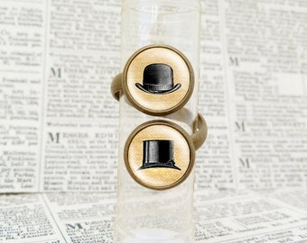 Victorian Hats - Double Ring