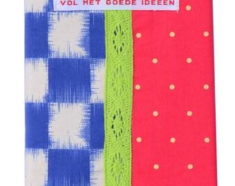 Notebook Ikat check