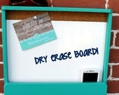 Home/Office Organizer - Dry Erase Board with Cork and Mail & Phone Holder