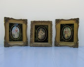 "Jane Freeman's ""Chums"", A.W. Devis ""Master Simpson"",Thomas Lawrence ""Miss Murray"" - Vintage Framed Reproductions"