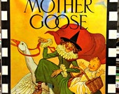 The Real Mother Goose; Illustrated by Blanche Fisher Wright; Large Book with Over 280 vintage rhymes, Rand McNally