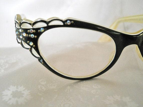 Fancy Dress Cat Eye Glasses