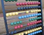Primitive Vintage Swedish Rare Vintage Abacus