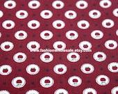 Half Yard - Japanese Cotton Fabric - Mini Apples, Red