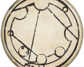 Doctor Who- Inspired FANTASTIC! in Gallifreyan button