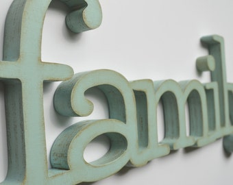 Family Wood Sign Wall Hanging