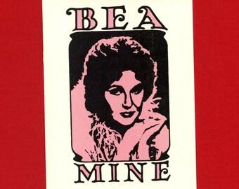 BEA MINE - Bea ARTHUR Card - Bea Arthur - I Love You Card - Funny Love Card - Cute Love Card - Item L052