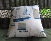 Nautical Pillow - Insert Included