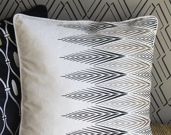 African Plumes Wall and Furniture Stencil for DIY Craft Projects
