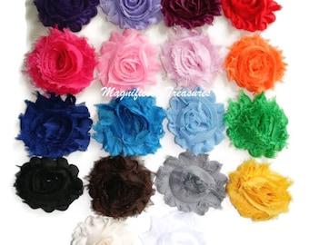 Shabby Flower Hair Clip or Headband