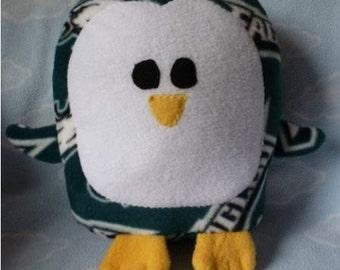 Plush Philadelphia Eagles Penguin Pillow Pal, Baby Safe, Machine Wash and Dry