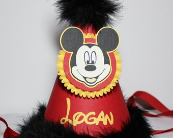 Mickey Mouse Party Hat - Personalized -