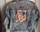 Courtney Love Hole Denim Jacket