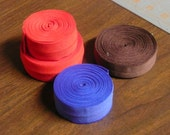 De-Stash FOE for Cloth Diaper Sewing--Red, Blue, and Brown