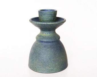 German Green Vase/Candle Holder - 1970s