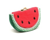 Cool soothing watermelon wallet purse