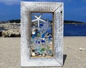 Beach Glass Suncatcher