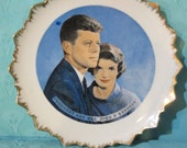 Vintage Kennedy Collector Plate