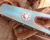 Turquoise Blue Boot Jack with Concho