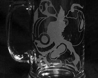 15oz League of Legends Mug- ZIGGS - LoL /  online gaming / geekery / mug / beer mug