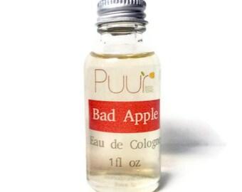 Bad Apple Eau de Cologne - Women's Perfume - 1 oz Fragrance - Apple, Bourbon, Incense