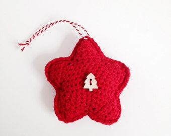 Crochet Star Pattern - Instant Download