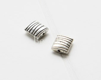 20pcs / Spacer / Oxidized Silver Tone / Base Metal (YB14494//O68A)