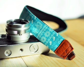 iMo Elephant (ocean) camera strap suits for DSLR / SLR with quick release buckles