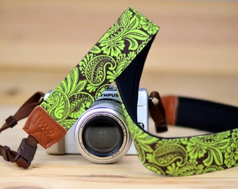 iMo Ivy Damask camera strap suits for DSLR / SLR with quick release buckles