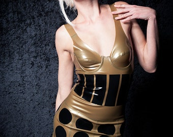 Latex Fetish Doctor Who Dalek Dress