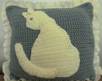 Cat Pillow Crochet Patterns Free Crochet Patterns