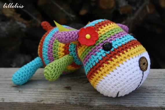 PATTERN Stripy sock puppy crochet pattern amigurumi by ...