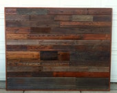 Reclaimed Wood Headboard Full Size