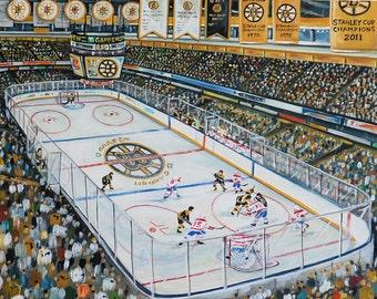 Bruins at the Boston Garden 2013