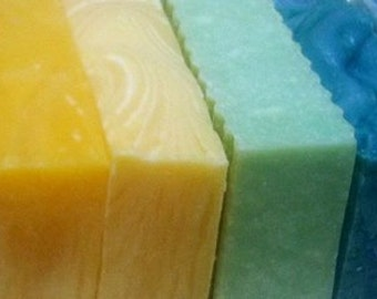 Soap Special  Get 5 Bars with Free Shipping  You Choose Any 5 Handcrafted Soaps ALL NATURAL  rich lather, smells great