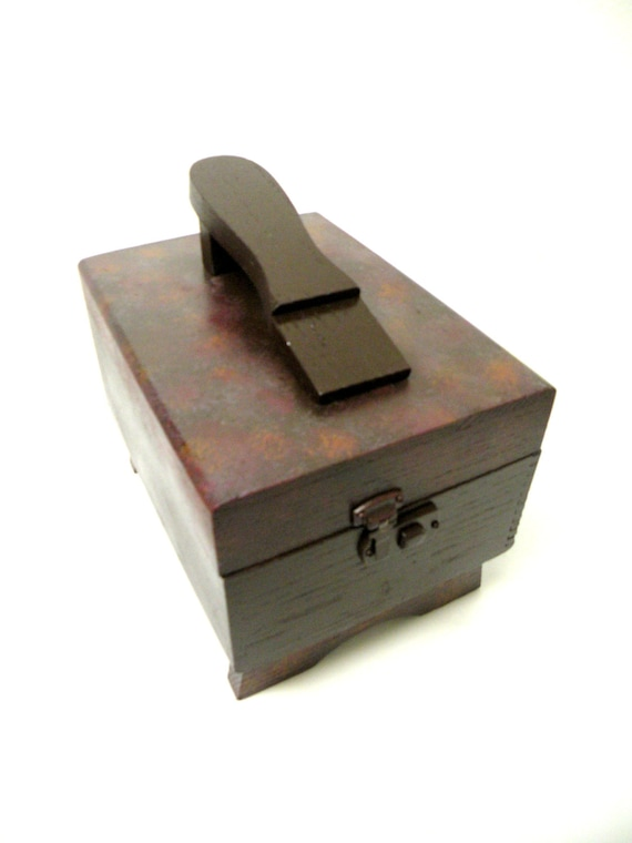 Mens Shoe Shine Box