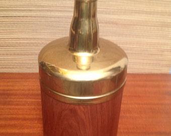 RARE Vintage Laurids Lonborg Danish mid century modern TEAK Champagne Ice Bucket