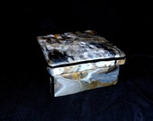 Polymer Clay Decorative Wood Box 972