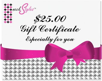 Infinity Scarf Gift Certificate - neckStyles