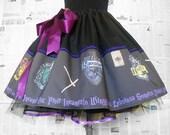 SALE,Harry Potter,Womens Harry Potter Costume, Cosplay, Dress,Skirt, Rooby Lane, Fabric designer Uk