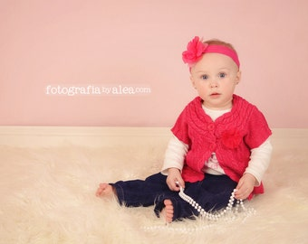 Photography Backdrop - Solid Pink  With Top and Bottom Rod Casings - 4.5'x 5.5' - READY TO SHIP