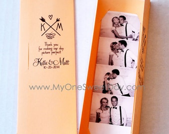 Photo booth Photo-Strip Picture Holders Party Favor Spring or Summer Wedding theme