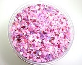Heirloom Roses Frit Blend for Lampwork Bead Making 96 CoE Strawvberry Pink Gold Ruby Raspberry Rose Cranberry 2 oz. Jar