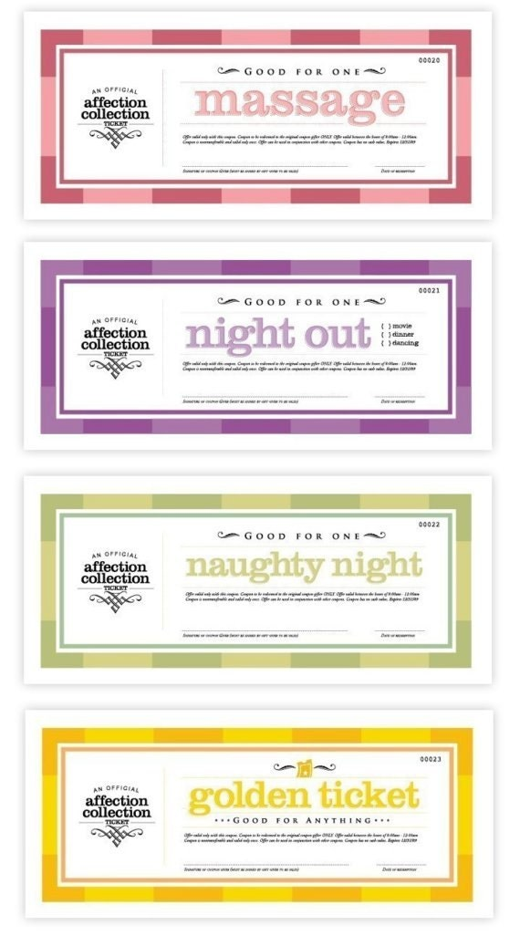 Homemade Sex Coupons 113