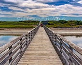 Footbridge Beach Ogunquit Maine