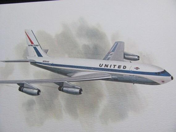 United Airlines Vintage 63