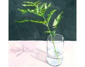 """8x10"""" print - plant still life - """"Fern"""""""