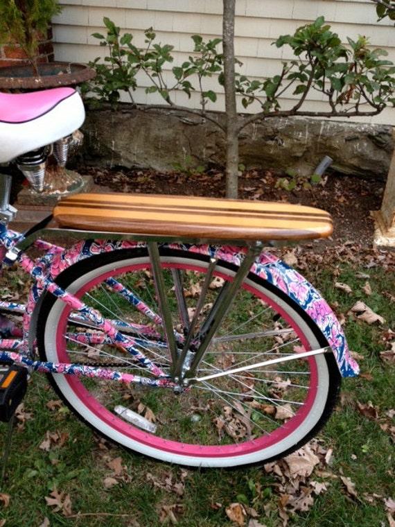 Surfboard Bike Rack With Retro Rear Rack Support