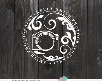 Photography Logo - premade logo design photographer small business - photo watermark design - camera logo and watermark photographer logos